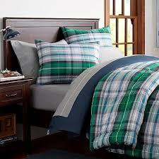 green plaid comforter set portsmith sham pbteen 9 best 25 bedding