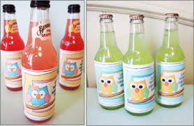 owl baby shower theme diy baby shower ideas bottle labels owl baby diy baby shower ideas