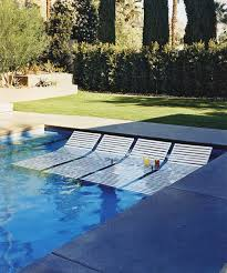 Sun Chairs Loungers Design Ideas Transats Dans La Piscine Sun Loungers In The Pool