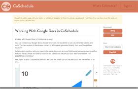 Open Google Spreadsheet Using Google Docs With Coschedule U2013 Coschedule