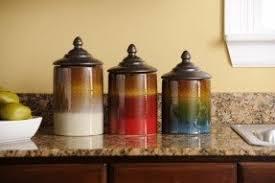ceramic kitchen canisters sets foter