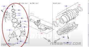 nissan check engine light codes 2001 nissan maxima check engine light on with code p0430 replaced