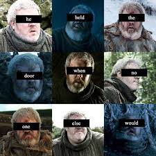 Know Your Meme The Game - relive the pain of hold the door with 16 game of thrones memes