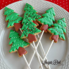 christmas tree cookies decorating christmas lights decoration
