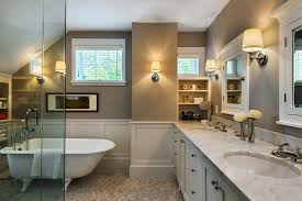 warm paint colors bathroom rustic with bright transitional