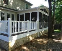 trex composite decking u0026 railing sunshine contracting