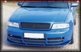 audi s4 front bumper front bumper speed foil and splitter styling for audi a4 b5 and s4
