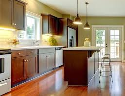 what color wood floor looks with cherry cabinets cherry kitchen cabinets all you need to