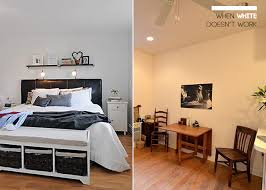 Design Mistake  Painting A Small Dark Room White Emily Henderson - Best paint colors for small bedrooms