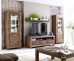 Wohnzimmerschrank F Fernseher Tv Board Akazie Massiv Braun Victoria 9840 11111417