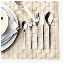 How To Set Silverware On Table Förnuft 20 Piece Flatware Set Ikea