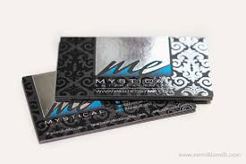 Business Cards With Foil 10 Stunning Black Business Card Designs