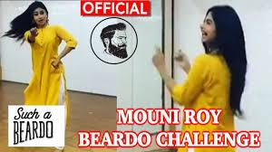Challenge Official Mouni Roy On Beardo Song Naagin2 Mouni Roy