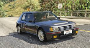 peugeot 205 peugeot 205 turbo 16 add on tuning livery gta5 mods com