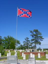 New Georgia Flag Panoramio Photo Of Confederate Flag Over New Hope Cemetery