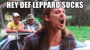 Meme Def - hey def leppard sucks kid rock waaburger meme generator