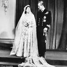 the queen u0027s 70 year old wedding dress hasn u0027t dated at all daily
