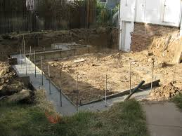 home renovation there will be concrete