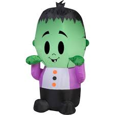 Gemmy Halloween Inflatable by Gemmy Airblown Inflatable 3 5 U0027 X 2 U0027 Happy Monster Halloween