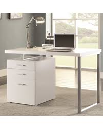 Desk With Filing Cabinet Drawer File Cabinet Design White Desk With File Cabinet Modern Design