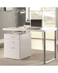Computer Desk Modern Design File Cabinet Design White Desk With File Cabinet Modern Design