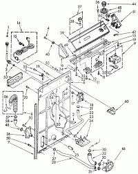 kenmore 80 series washer parts diagram wiring diagram and fuse