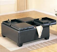 Large Storage Ottoman Ottomans Storage Ottoman Coffee Table Diy Canada Cocktail Tray