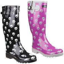 womens gumboots australia print rubber boots for ebay