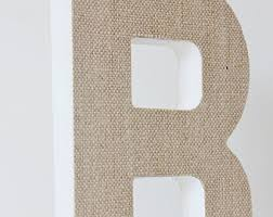 faux metal letter zinc steel initial home room decor diy signs