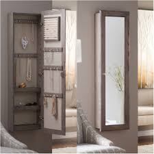 Jewelry Cabinet Mirror Armoire Hanging Jewelry Armoire Hanging Jewelry Armoire Qvc