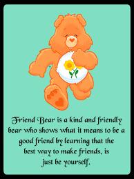 friend bear kind friendly bear shows means