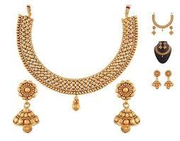 elegant gold necklace designs images Rajwadi gold necklace designs elegant buy designer traditional jpg