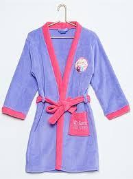 robe de chambre violetta vêtements reine des neiges violetta disney pour pyjama peignoir