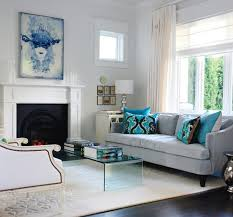 white and gray living room gray and turquoise blue living rooms transitional room 5 modern