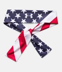 Us Flag For Sale Women U0027s Ua 4th Of July Tie Headband Under Armour Us