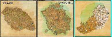 Eso Maps Eso Morrowind Size Comparison Does Size Matter U2014 Elder Scrolls