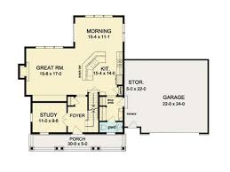 floor plans for colonial homes colonial house plan open floor square one level plans eplans ranch