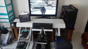 Paragon Gaming Desk Furniture Ultimate Gaming Desk Layout 9 Capitangeneral Then