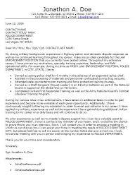 law enforcement cover letter examples enforcement cover letter