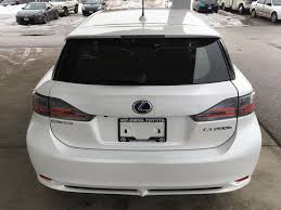 lexus hybrid hatchback 2013 used 2013 lexus ct 200h fwd 4dr hybrid 4 door car in kelowna bc