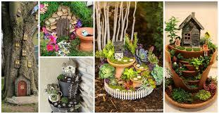 Fairy Garden Ideas by Mini Fairy Garden Ideas To Make The Garden Of Your Dreams