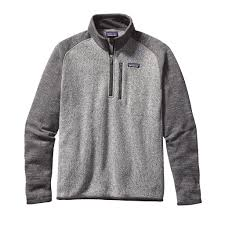 patagonia mens better sweater patagonia s better sweater 1 4 zip fleece tide and peak
