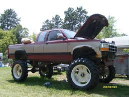Lifted Dodge Dakota Truck - 1994 dodge dakota information and photos zombiedrive