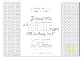 party invitations all white party invitation white party invitation summer