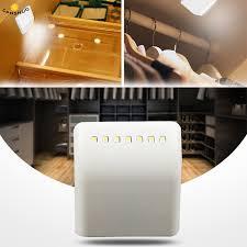 battery led lights for kitchen cabinets battery led l pir infrared motion sensor light kitchen inner hinge drawer cupboard wardrobe closet cabinet light