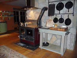 Fireview Soapstone Wood Stove For Sale Magnum Wood Cookstove I Like The Vent And The Rack For Cast Iron