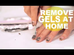 how to remove gel nails at home newbeauty tutorial youtube