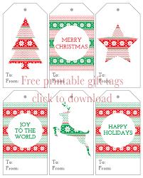 six christmas gift tags free printables i heart nap time