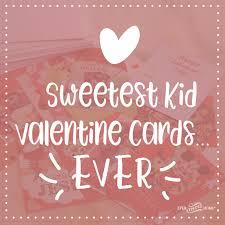 kid valentines sweetest kid cards thine home
