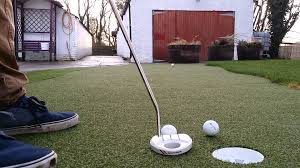 home putting green installed by putt it right ltd youtube